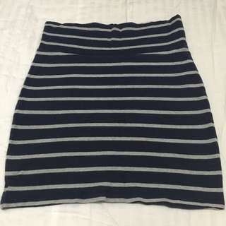 Forever 21 Stripes Skirt