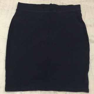 Forever 21 Dark Blue Skirt