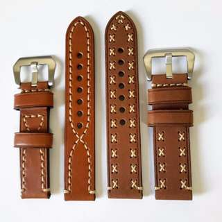 Matte Styling Leather Watch Strap (NEW) 20, 22, 24, 26mm