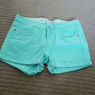 Aqua Blue Shorts