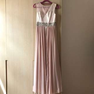Reduced Nude Cocktail Dress
