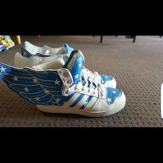 Unisex Perfect Condition Adidas Jeremy Scott Wings 2.0
