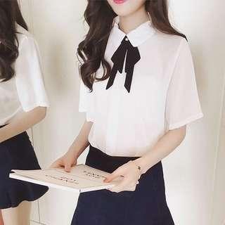 Korean Bow Tie Office Top