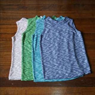 Knitted Turtle Neck Blouse