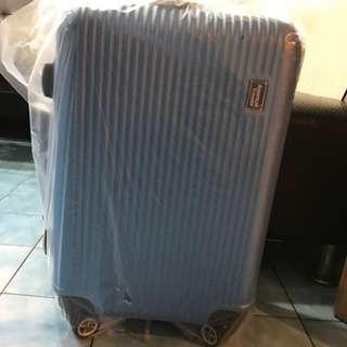 American Traveler 超輕量晶鑽條紋抗刮20吋行李箱