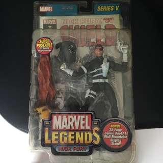 Marvel Legends Nick Fury Toy Biz