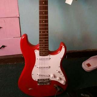 Global Electric Guitar With Amplifier