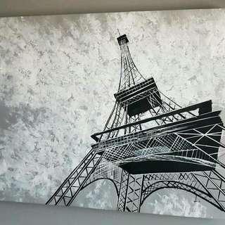 PARIS Handmade Painting IKEA