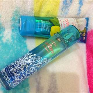 BBW lotion and perfume
