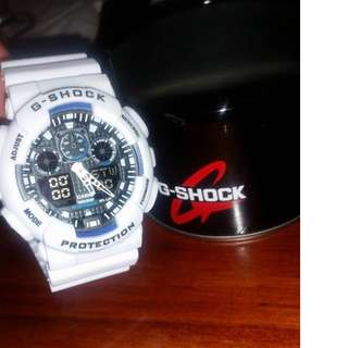 BRAND NEW G-SHOCK WATCH Including Box [WHITE]