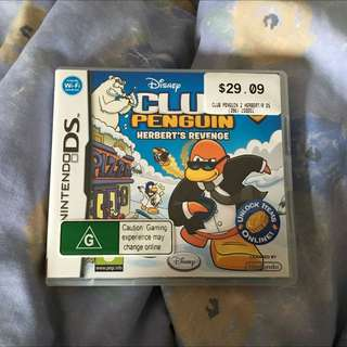Club Penguin Nintendo DS game