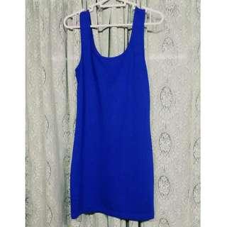 F21 Blue BodyCon Dress