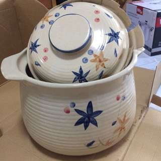 """9.5"""" Earthern Ware Pot Donabe"""