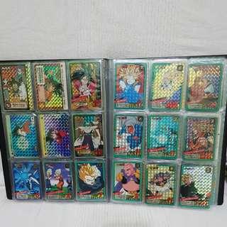 Dragonball card prism extras