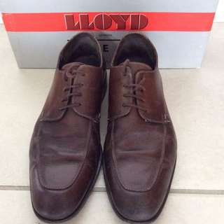 LLOYD eur 42 Germany Made Men Leather shoes size 8 eur 42