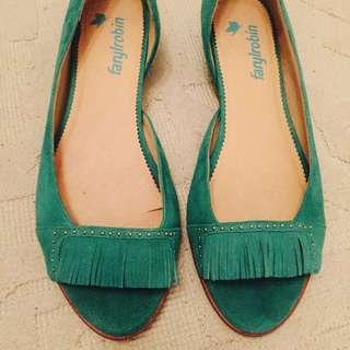 LA Brand farylrobin Stunning Fringe Shoe 38