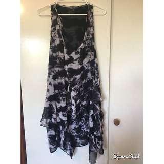 CityChic Shadow Pattern Dress