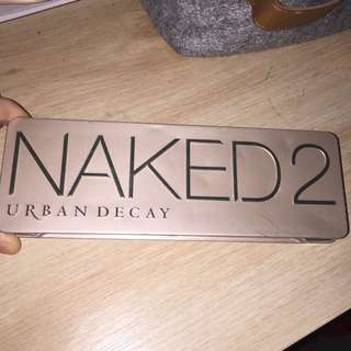 Authentic Urban Decay Naked 2 Pallet