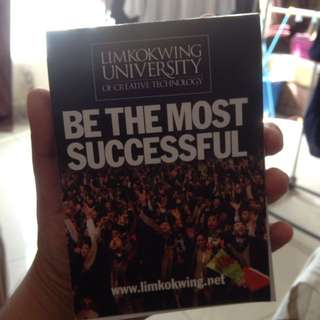 Limkokwing University notebook