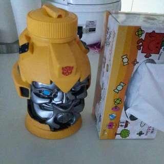 Transformer Water Bottle