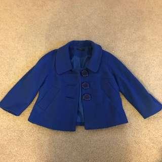 Ladies Jacket Size 10 Cobalt Blue