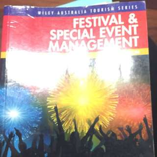 Wiley Australia- Festival And Special Event Management Textbook