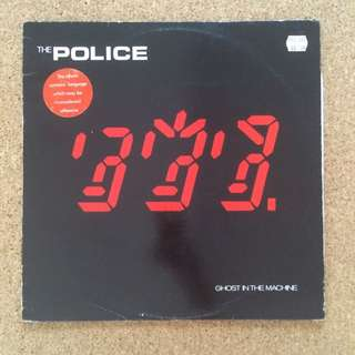 """Vinyl - The Police """"Ghost In The Machine"""" LP (1981)"""