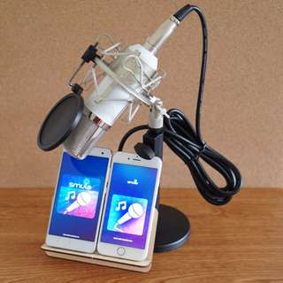 Condenser Mic for iPhone / Android / Laptop