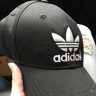 Adidas三葉草老帽