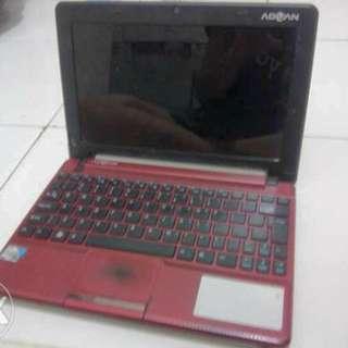 Netbook Advan Vanbook P1n-26225 Merah Marun