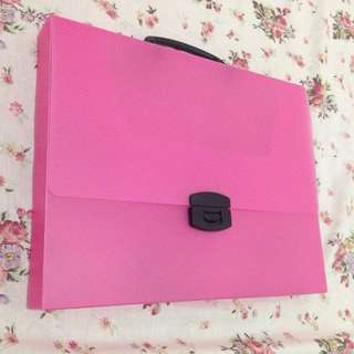 Shocking Pink Bag