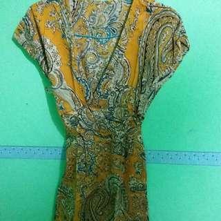 Dress Batik Panjang
