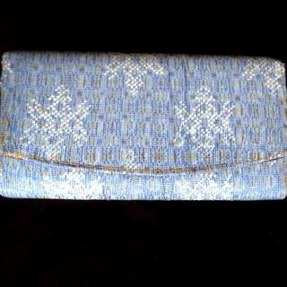 BATIK BLUE dompet Clutch
