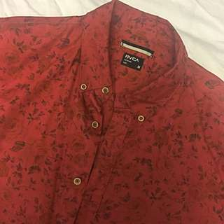 RVCA Slim Short Sleeve Shirt