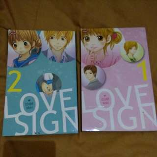 Usami Maki - Love Sign Part 1 Dan 2