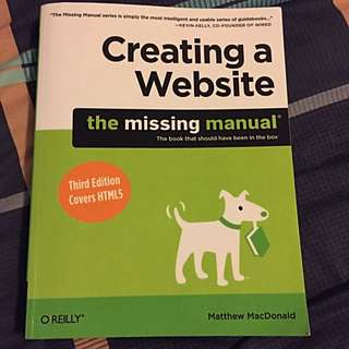Creating A Website - The Missing Manual