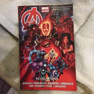 Avengers Revelations Marvel Comic
