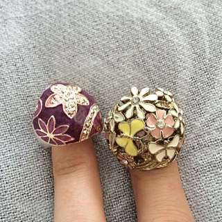 Rings (two)