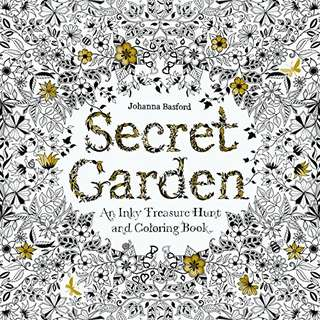 (Repriced)Secret Garden: An Inky Treasure Hunt and Coloring Book (Original)