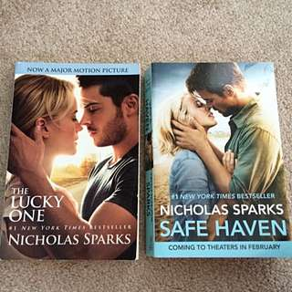The Lucky One & Safe Haven (Nicholas Sparks)