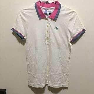 正版A&F Polo衫