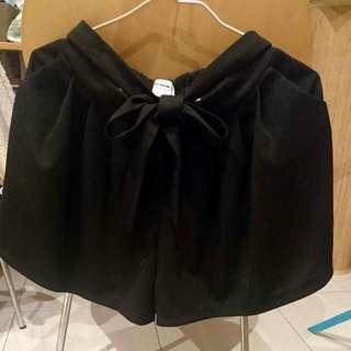寬管蝴蝶結短褲