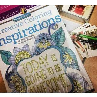 Creative Coloring Inspiration(Adult Coloring Book)