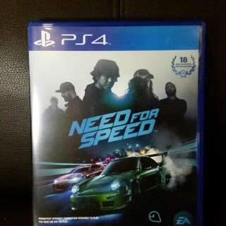 (CURRENTLY RESERVED) PS4 Need for Speed