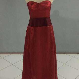 Simple Red Gown [SALE]