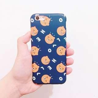 韓國Kakao Friends同款滿版手機殼 BTS防彈少年團金南俊 iPhone 6 6S 6plus 手機套保護殼