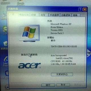 Acer小筆電