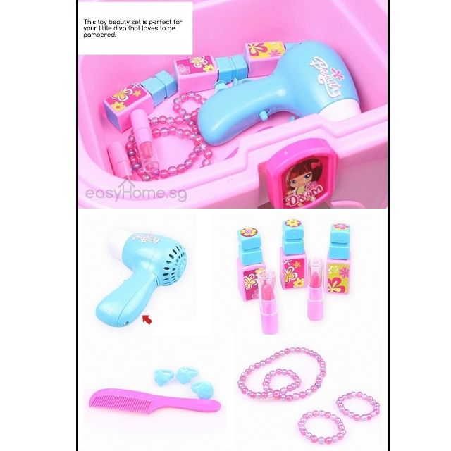 2 in 1 Beauty Playset & Stool