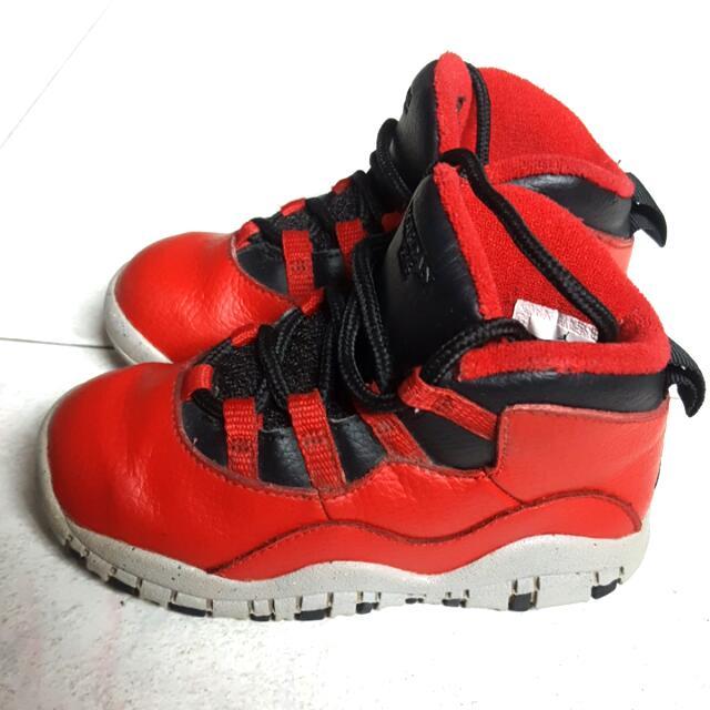 75efddfdaca 8C Nike Air Jordan 10 'B.O.B', Babies & Kids, Babies Apparel on ...