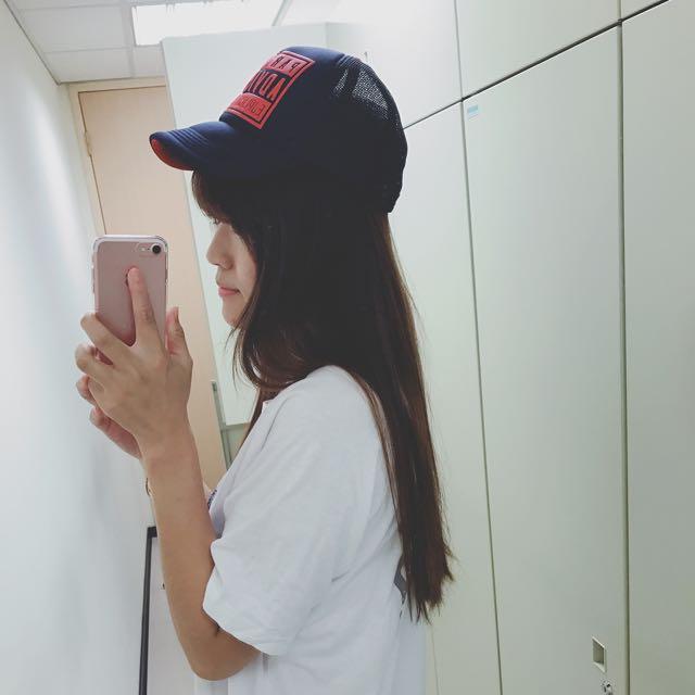 網帽 帽子 藍
